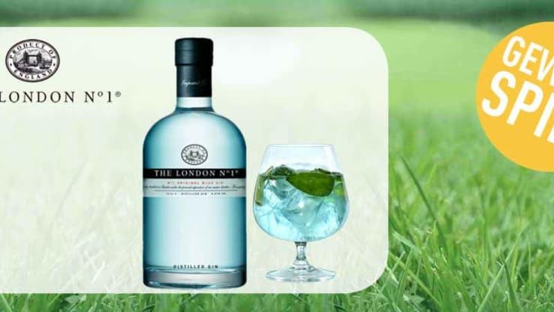 In dieser Woche können Sie eine 4,5-Liter-Flasche des The London N° 1 Original Blue Gins gewinnen! (Foto: Golf Post)
