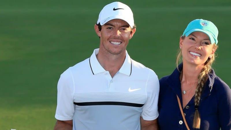 Ein tolles Jahr für Rory McIlroy und seine vermeintliche Verlobte Erica Stoll. (Foto: Getty)