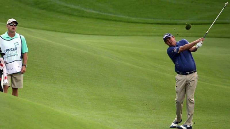 Jason Dufner steht auch nach der zweiten Runde an der Spitze der CareerBuilder Challenge. (Foto:Getty)