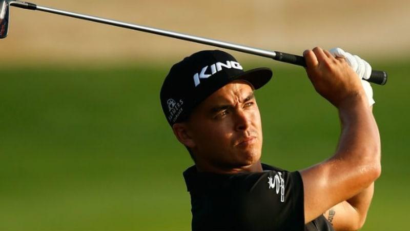 Rickie Fowler Abu Dhabi HSBC Golf Championship