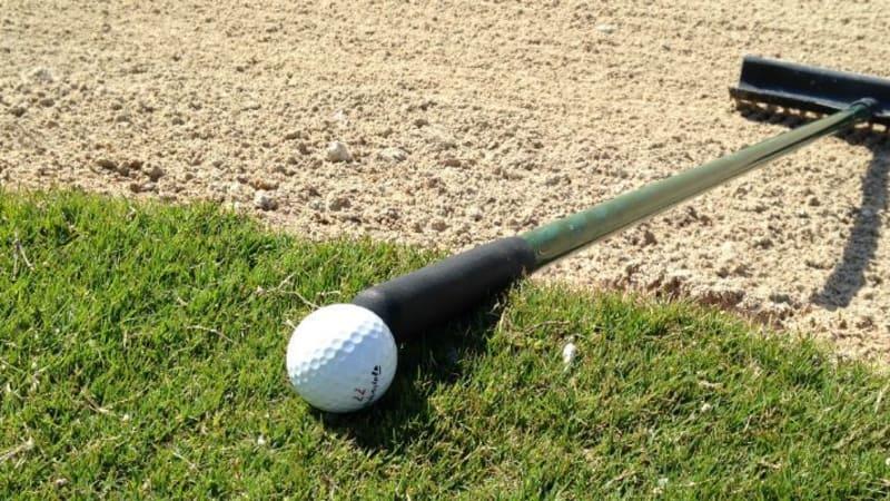 Golf Post Redakteur Lars Kretzschmar brachte sich bei seiner Runde mit Martin Kaymer in eine seltene Lage. (Foto: Golf Post)