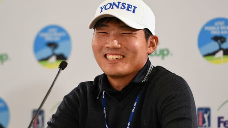 Sung Kang kratzte in Pebble Beach an der 59er Runde. (Foto: Getty)