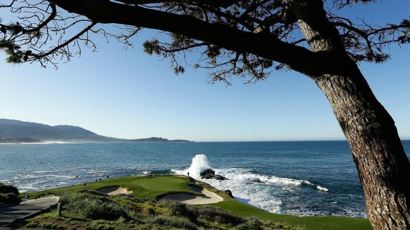 Eines der besten Golflöcher der Welt: Pebble Beach Loch 7. (Foto: Getty)