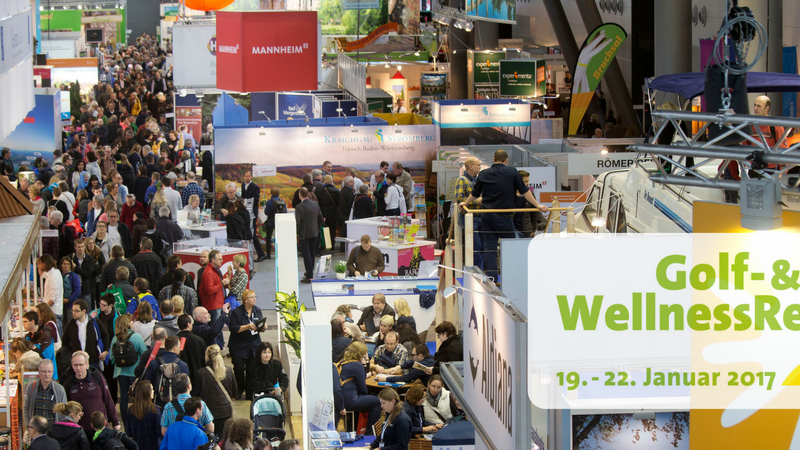 Die Golf- & WellnessReisen Messe vom 19. - 22. Januar 2017. (Foto: CMT)