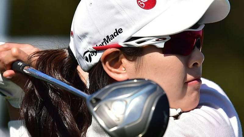 Lee Jung-Min aus Südkorea iegt bei der World Ladies Championship. (Foto: Getty)
