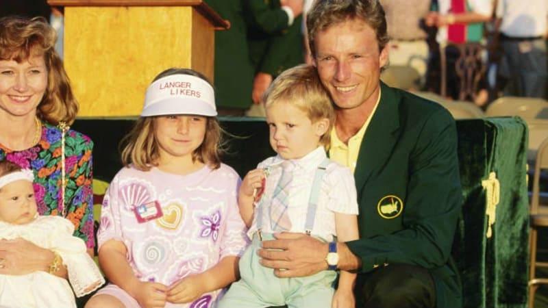 Bernhard Langer gewann das Masters in Augusta in den Jahren 1985 und 1993.