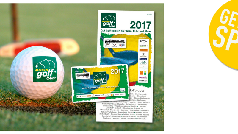 Die Rheingolf Card 2017: Jetzt beim Gewinnspiel mitmachen und mit etwas Glück gewinnen
