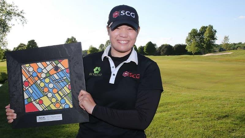 Respekt: Ariya Jutanugarn gewinnt mit der Volvik Championship ihr drittes LPGA-Turnier in Folge. (Foto: Getty)