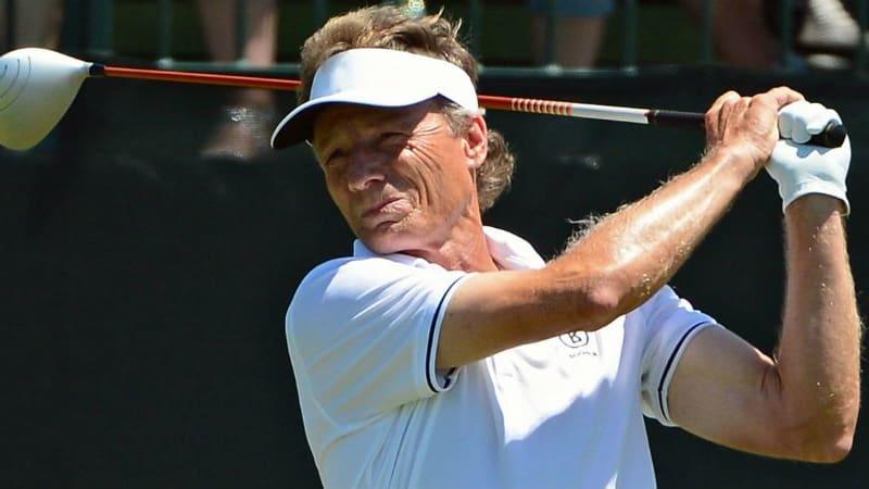 Nicht ganz an der Spitze: Bernhard Langer wird Dritter bei der Senior PGA Championship. (Foto: Getty)