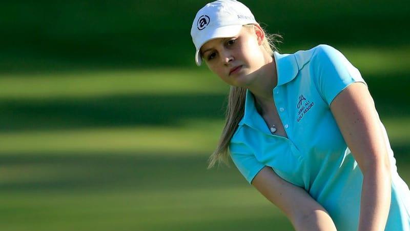 Mit 20 Jahren macht sie ihr erstes Major fix: Olivia Cowan qualifiziert sich für die US Women's Open. (Foto: Getty)