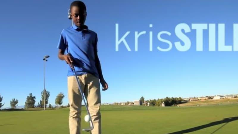 Kris Stiles ist ein jungesn Golftalent. Golf könnte sein ganzes Leben verändern. (Foto: Youtube)