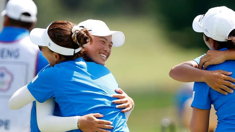 Das taiwanesische Team bei der International Crown. (Foto: Getty)