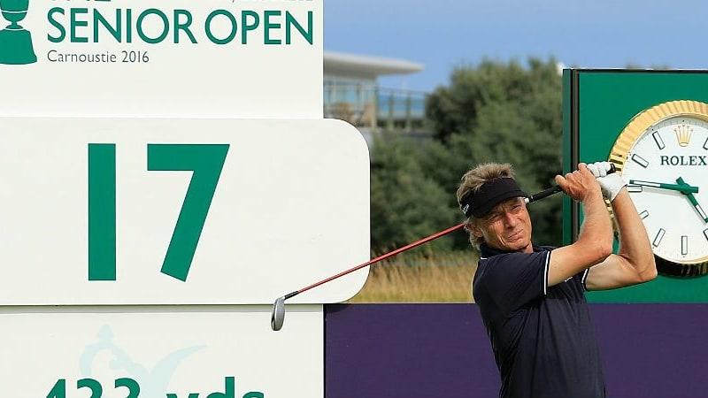 Im Livestream können Sie Bernhard Langer bei der Senior Open Championship live verfolgen. (Foto: Getty)