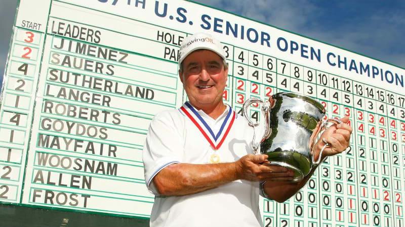 Gene Sauers ist der glückliche Sieger der 37. US Senior Open. (Foto: Getty)