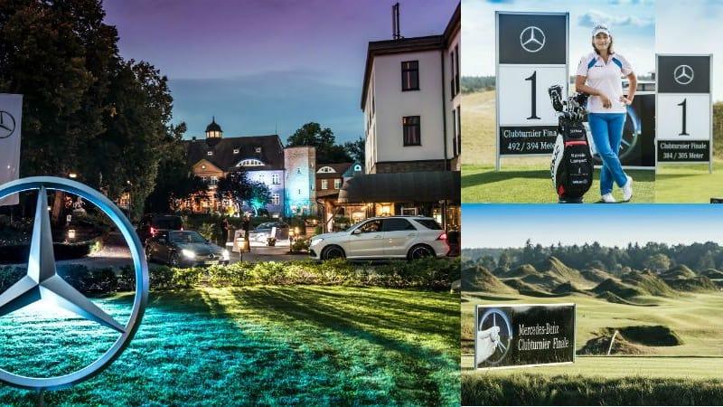 Das Mercedes-Benz Clubturnier Finale im Schloss Basthorst und auf den Plätzen des WINSTONgolf war ein voller Erfolg. (Foto: Mercedes-Benz)