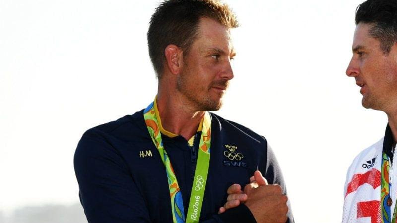 Die beiden Olympiamedaillengewinner Henrik Stenson und Justin Rose könnten als