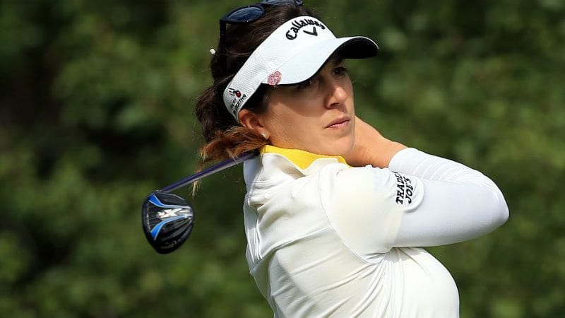 Sandra Gal geht am Moving Day des Ladies European Masters ab wie eine Rakete. (Foto: Getty)