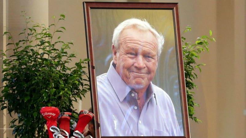 In Pennsylvania wurde Arnold Palmer die letzte Ehre erwiesen. (Foto: Getty)