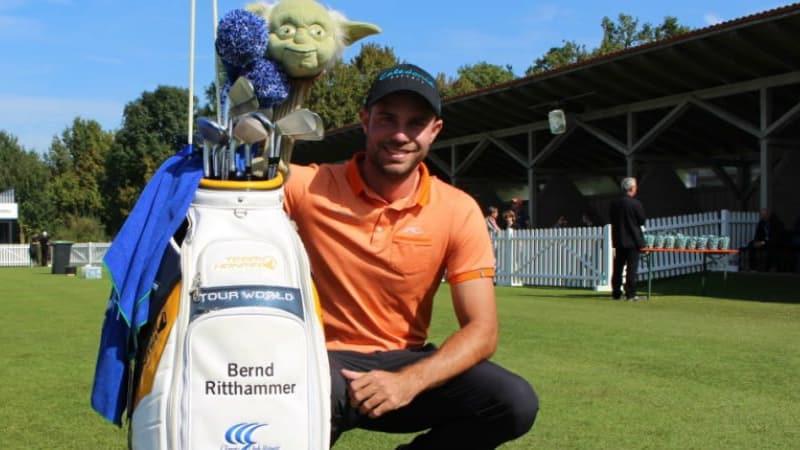 Mit seinen Honma-Schlägern ist Bernd Ritthammer ein Exot unter den Profis. (Foto: Golf Post)