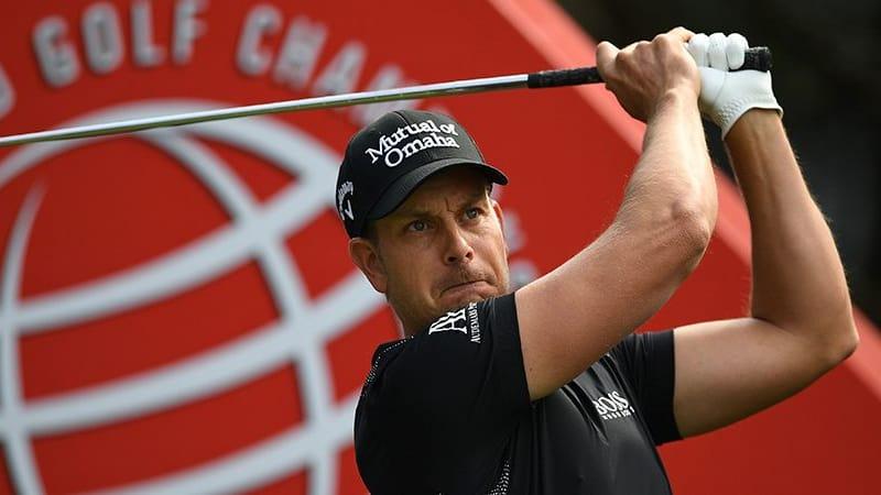Henrik Stenson Führender Race to Dubai aktuelle Golf Rankings