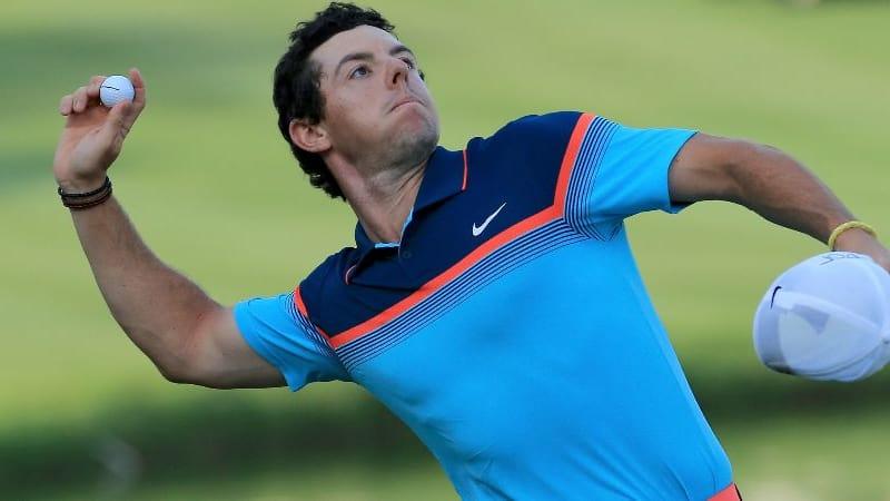Rory McIlroy startet die Abspaltung von Nike und spielt beim WGC in China TaylorMade Hölzer. (Foto: Getty)
