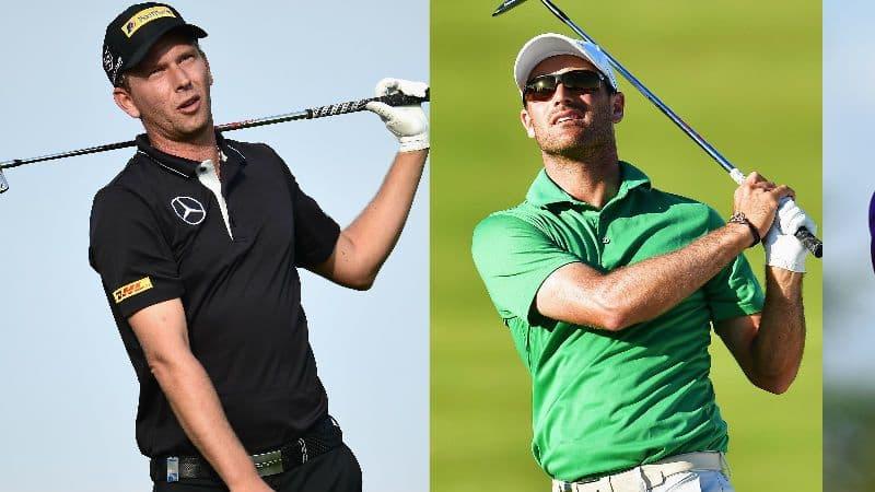 Marcel Siem, Florian Fritsch und Maximilian Kieffer sind beim Portugal Masters dabei. (Foto: Getty)