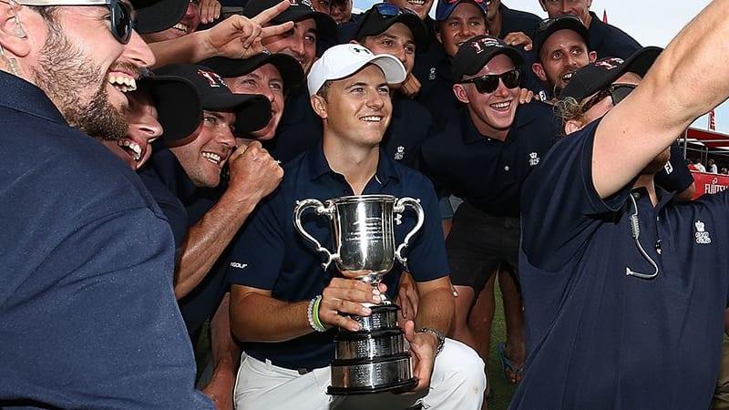 Jordan Spieth Emirates Australian Open 2016 Sieger ergebnisse David Klein