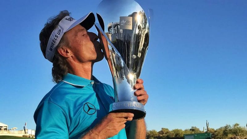 Bernhard Langer schließt eine überragende Saison erneut als Sieger des Charles Schwab Cup ab. (Foto: Twitter/@ChampionsTour)