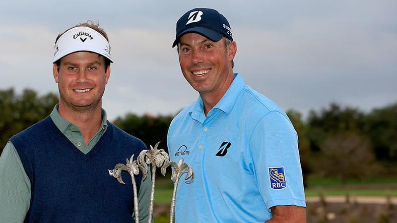 Harris English Matt Kuchar Sieger Franklin Templeton Shootout 2016