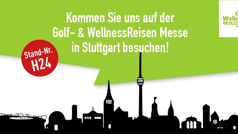 Golf Post zu Gast auf der Golf- & WellnessReisen Messe 2017 in Stuttgart. (Foto: Golf Post)