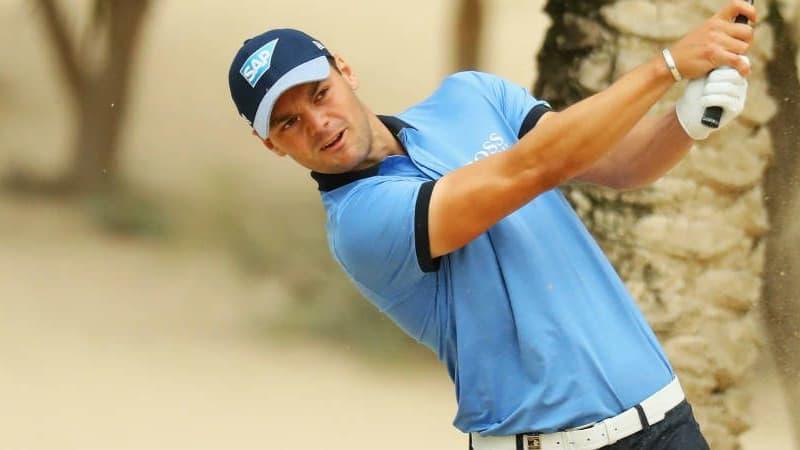 Martin Kaymer hatte zum Auftakt der Omega Dubai Desert Classic mit einem Wüstensturm zu kämpfen.