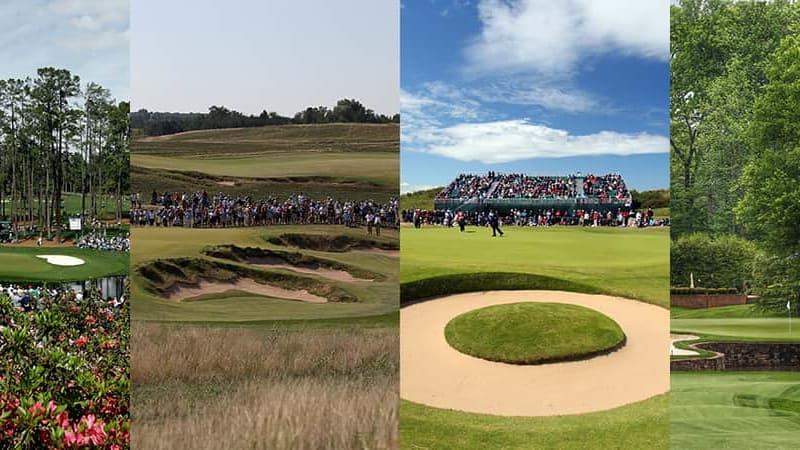 Golf Majors 2017 Vorschau Masters US Open British Open PGA Championship