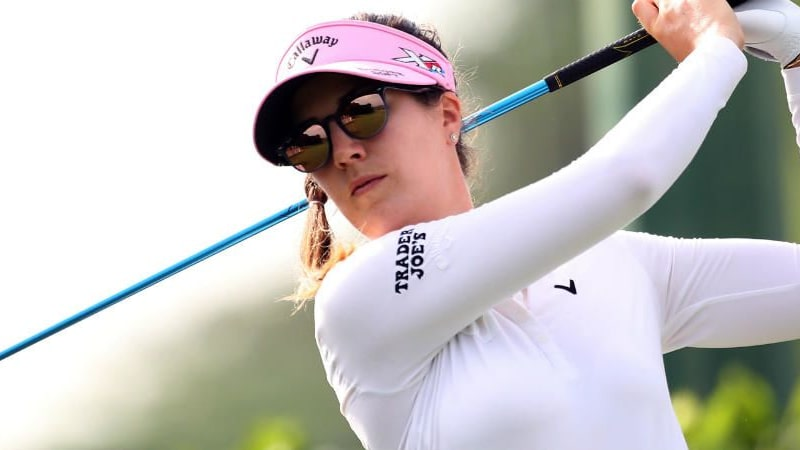 Sandra Gal platziert sich gut vor dem Moving Day des Bank of Hope Founders Cup. (Foto: Getty)