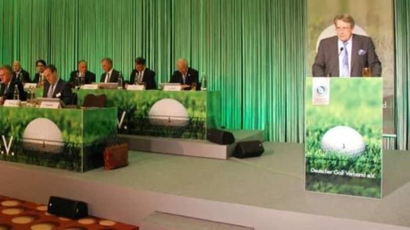 Am 28. und 29. April trat der Deutsche Golf Verband zu seinem 98. ordentlichen Verbandstag zusammen. (Foto: Golf Post)