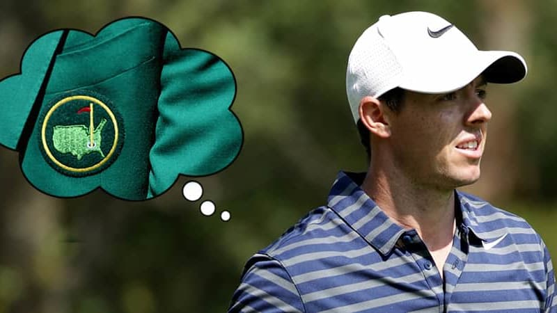 Back Nine Rory McIlroy nicht komplett ohne Green Jacket