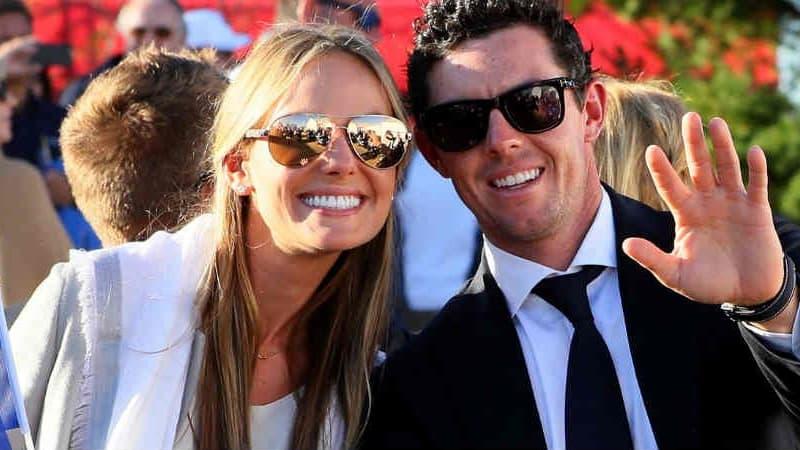 Seit 2015 sind Rory McIlroy und Erica Stoll ein glückliches Paar. Jetzt trauen sie sich. (Foto: Getty)