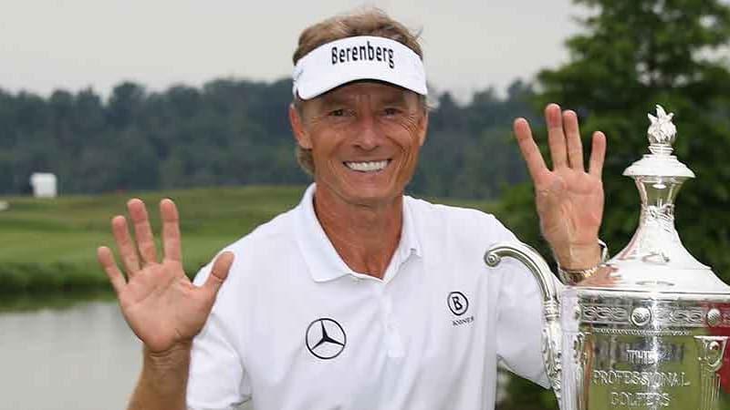 Bernhard Langer stellt bei der Senior PGA Championship einen neuen Majorrekord auf. (Foto: Getty)