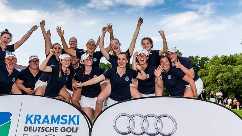 DGL Deutsche Golf Liga 2017 Hamburger GC Falkenstein zweiter Sieg zweiter Bundesligaspieltag erste Bundesliga