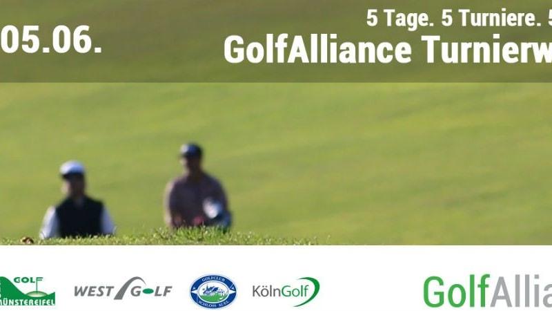 5 Tage, 5 Turniere, 5 Plätze! Mit der Golf Alliance Turnierwoche die Pfingstfeiertage genießen. (Foto: Golf Alliance)