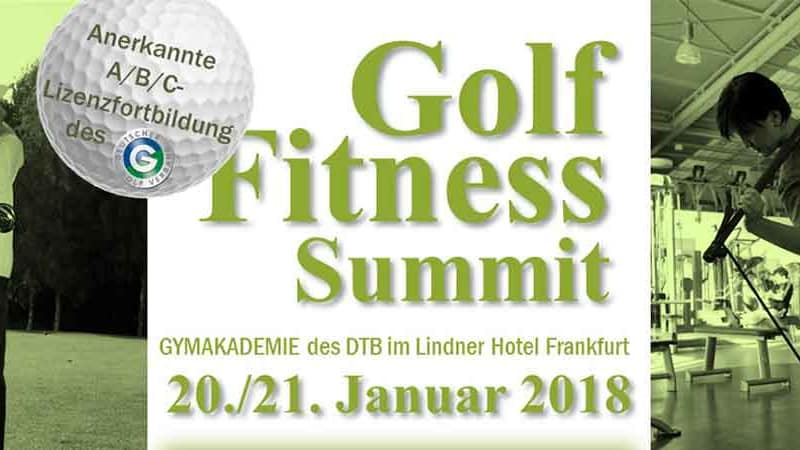 Der 2. Golf-Fitness-Summit findet 2018 in Frankfurt statt. (Foto: Fabian Bünker)