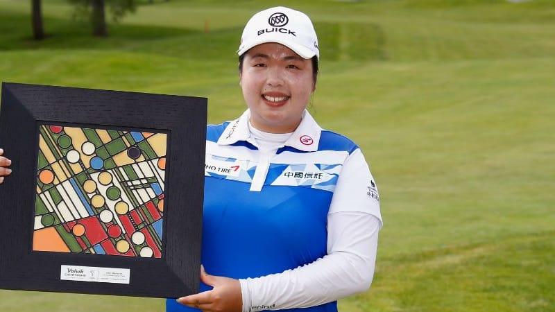 Shanshan Feng holt sich bei der Volvik Championship ihren dritten LPGA Sieg. (Foto: Getty)
