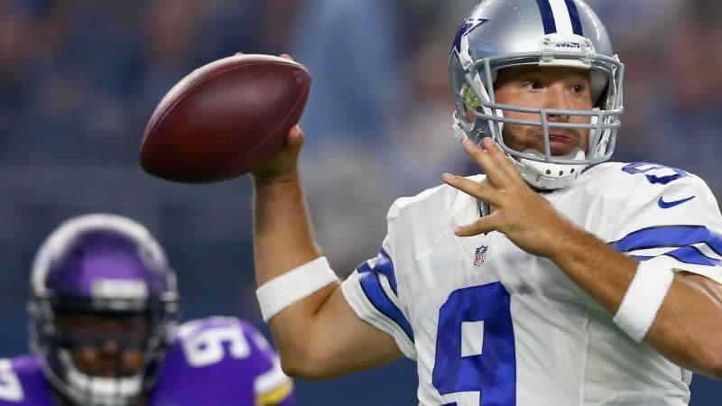 Tony Romo hat den Football gegen die Golfschläger ausgetauscht. (Foto: Getty)