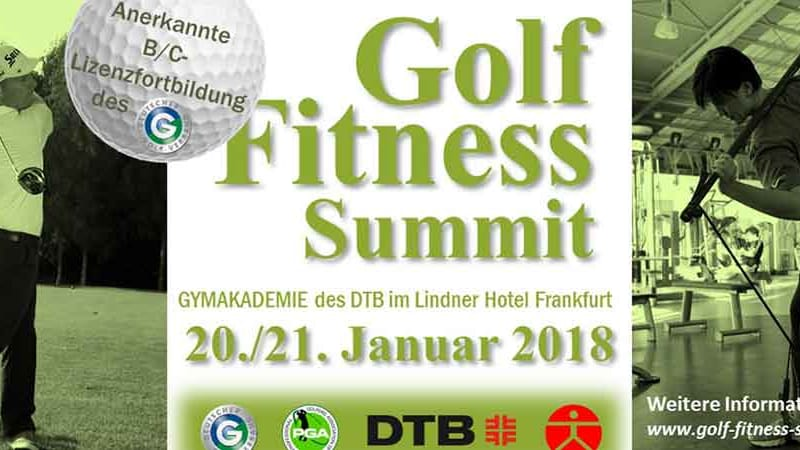 Der Golf-Fitness-Summit findet im Januar 2018 in Frankfurt (Main) statt. (Foto. Fabian Bünker)