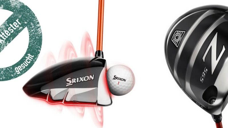 Golf Post und Srixon suchen Tester für den Z 565 Driver. Jetzt bewerben! (Foto: Srixon)