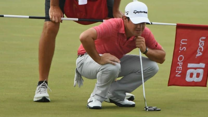Der Kanadier Brian Harman geht als Führender ins Finale der US Open in Erin Hills, insgesamt rechnen sich aber 16 Spieler realistische Chancen auf das Rekord-Preisgeld aus.