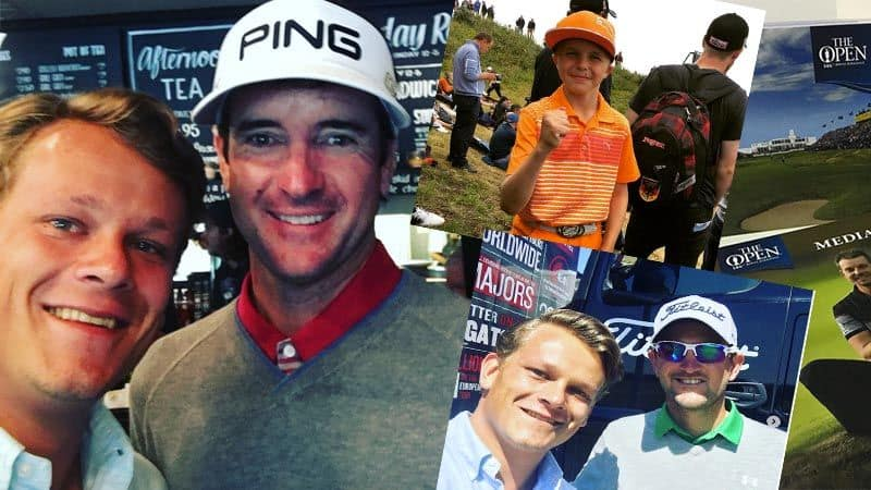 Golf Post hat vor Ort bei der British Open viel erlebt und viele spannende Personen getroffen.