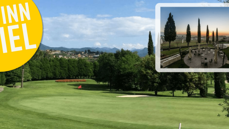 Golf Post verlost zwei Übernachtungen für zwei Personen inklusive Frühstück im Hotel Villa Luisa direkt am italienischen Gardasee. (Foto: Hotel Villa Luisa)