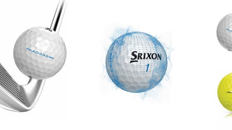 Mitte der Saison 2017 ist Srixon mit einem verbesserten AD333 Golfball am Start. (Foto: Srixon)