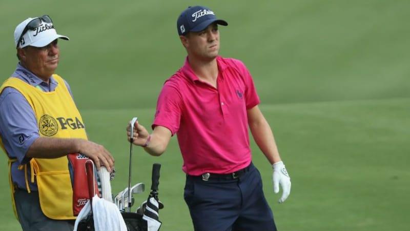 Justin Thomas griff bei der PGA Championship zu den richtigen Schlägern. (Foto: Getty)