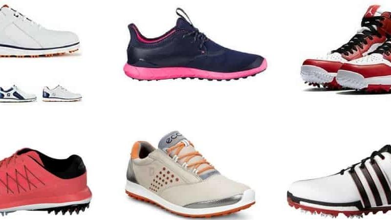 Golfschuhe im Fokus! Golf Post nimmt die großen Hersteller unter die Lupe. (Foto: Nike/Puma/Ecco/Adidas/FootJoy)